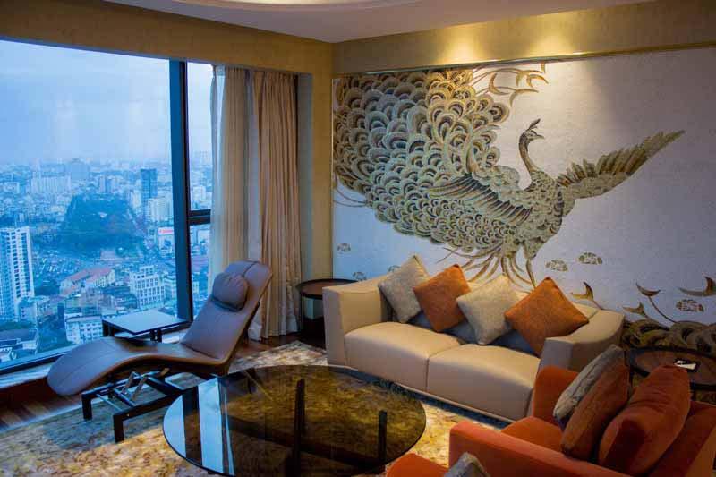 Designer Suite - Georgetti - living room